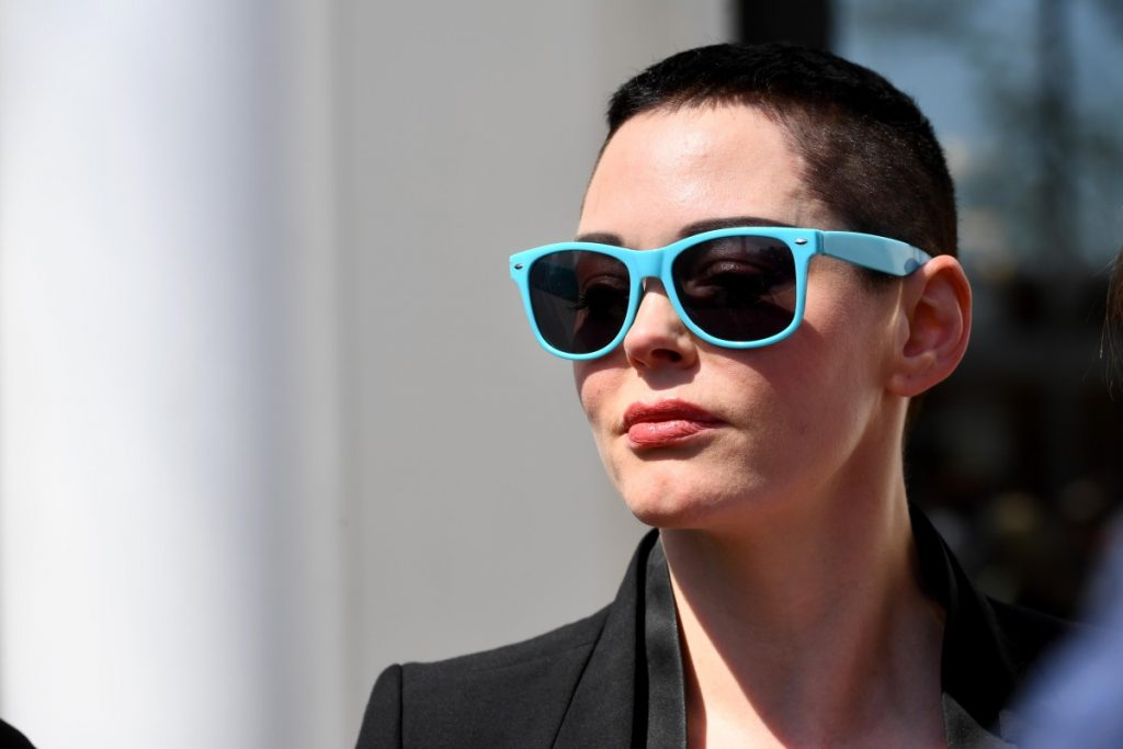 Actress Rose McGowan pleaded no contest to a misdemeanor charge of possession of a controlled substance.