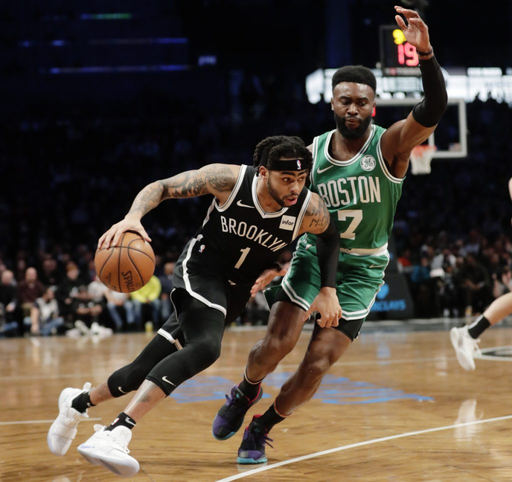 Irving to sit out game in Brooklyn because of thigh injury