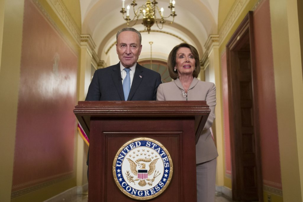 Chuck Schumer and Nancy Pelosi are flouting the will of voters who elected President Trump expecting the wall to be built, a letter writer says.