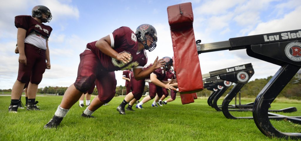 Falling Maine school enrollment and lower interest in football – because of both interest in other sports and head-injury concerns – have made it difficult to field a traditional team.