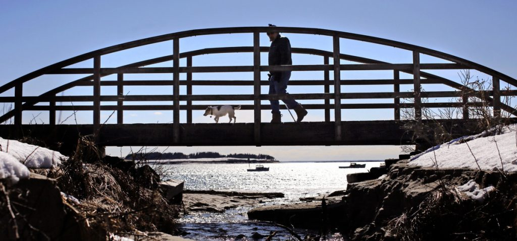 A bond to fund projects and maintenance at Maine's state parks, like Kettle Cove in Cape Elizabeth, above, is among the recommendations of a new task force on land conservation.