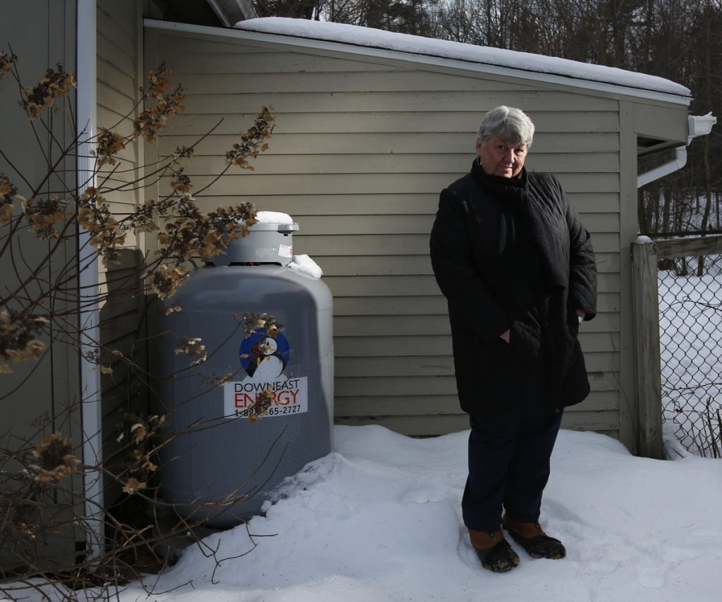 "North Yarmouth resident Pamela Smith was charged nearly $12 by her propane service for a hazmat fee, although there's no such thing under local, state or federal law. ""A 'hazmat fee,' every time there's a fill-up? They're very nice people, but I was just taken aback."""