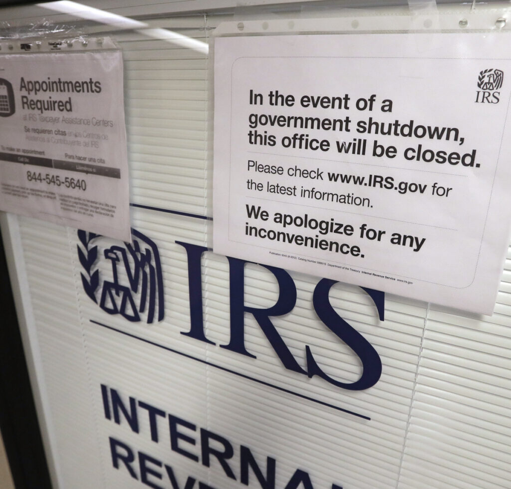 About 75 percent of taxpayers get refunds; the shutdown effect may delay this year's check.