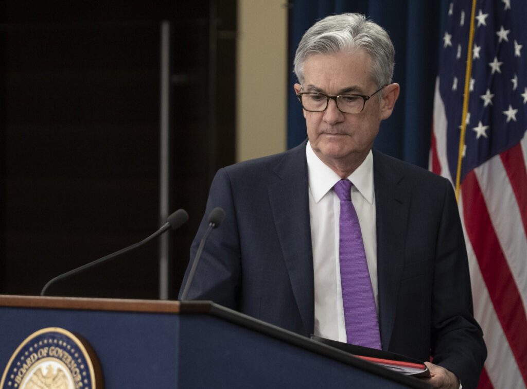 """I would want to see a need for further rate increases, and for me a big part of that would be inflation,"" Fed Chairman Jerome Powell says."