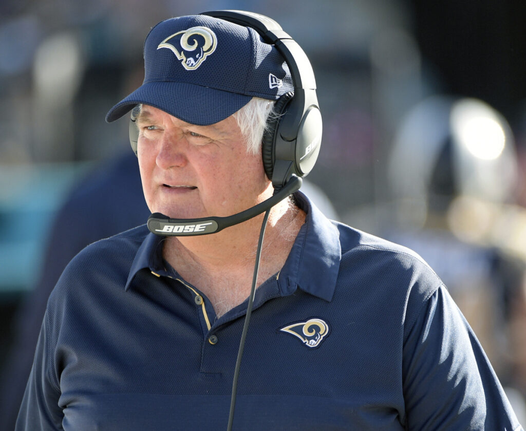 7c175b20f Los Angeles Rams defensive coordinator Wade Phillips is in his second Super  Bowl in four seasons