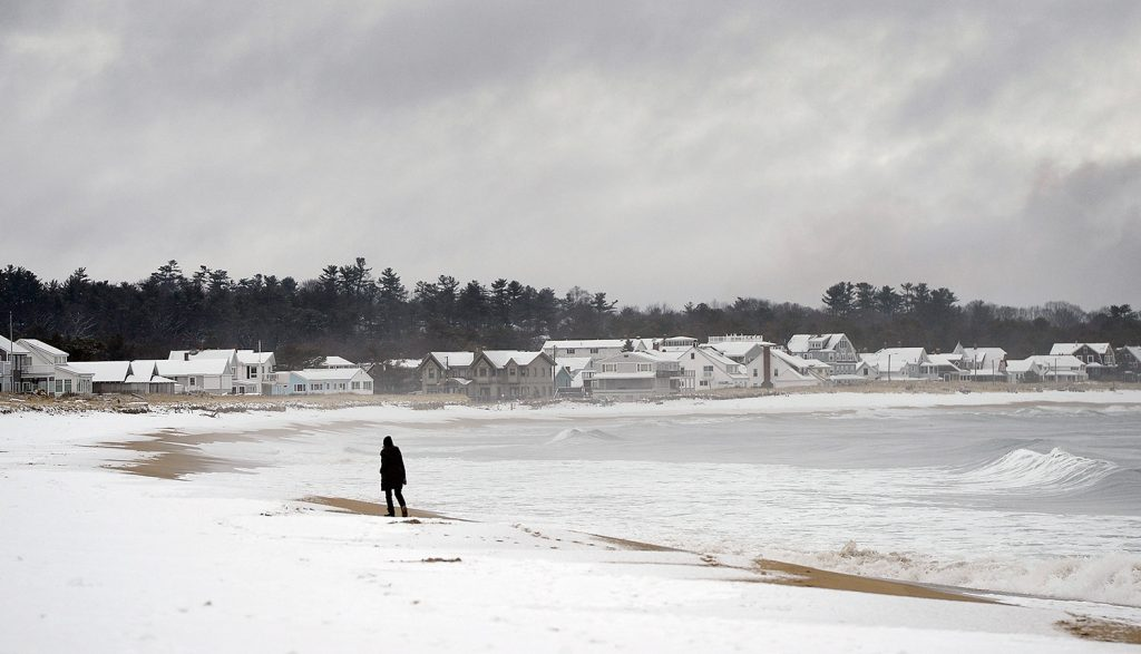 Messy Mix Of Rain Snow To Give Way To Blast Of Cold
