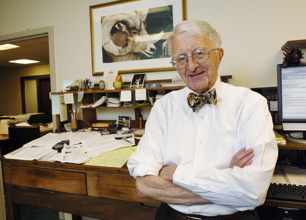 Ralph Lancaster was photographed in 2009, when he was celebrating his 50th year as an attorney.