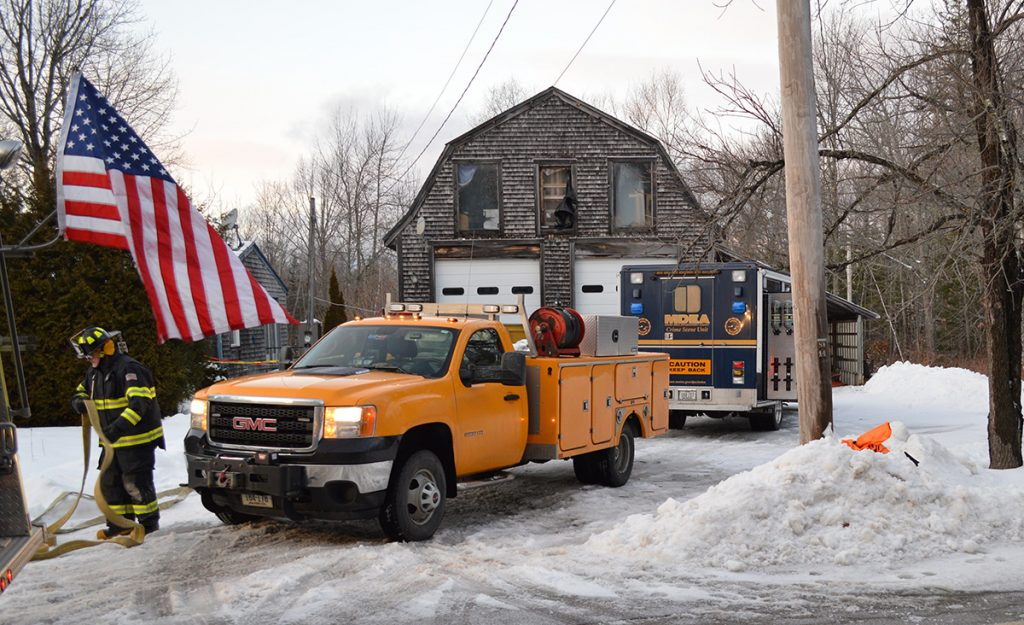 Bucksport Police responded to a meth lab on Sunday, Jan. 6, 2019.
