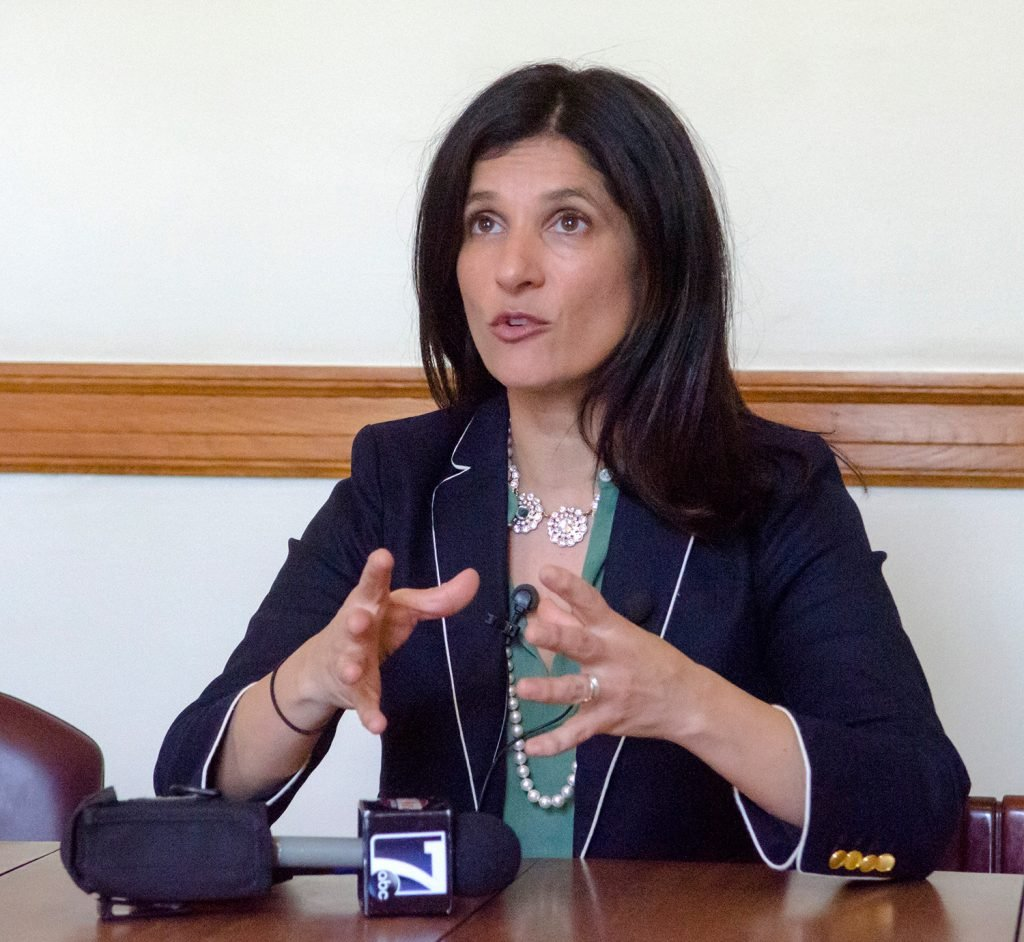 Maine House Speaker Sara Gideon is proposing legislation to expand on a federal law that requires most employers to give unpaid family or medical leave for as long as 12 weeks.