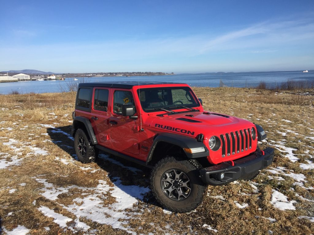 The Jeep Wrangler Rubicon Unlimited. (Photo by Tim Plouff. Location: Rockland Harbor.)