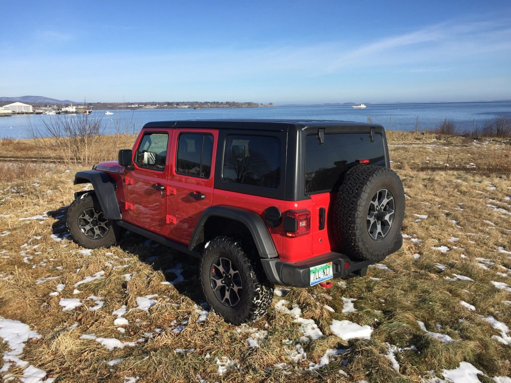 Jeep sold more than 235,000 Wranglers in 2018. (Photo by Tim Plouff. Location: Rockland Harbor.)