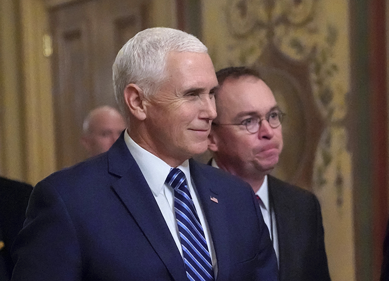 Pence, Senior Trump Officials to Receive Raises