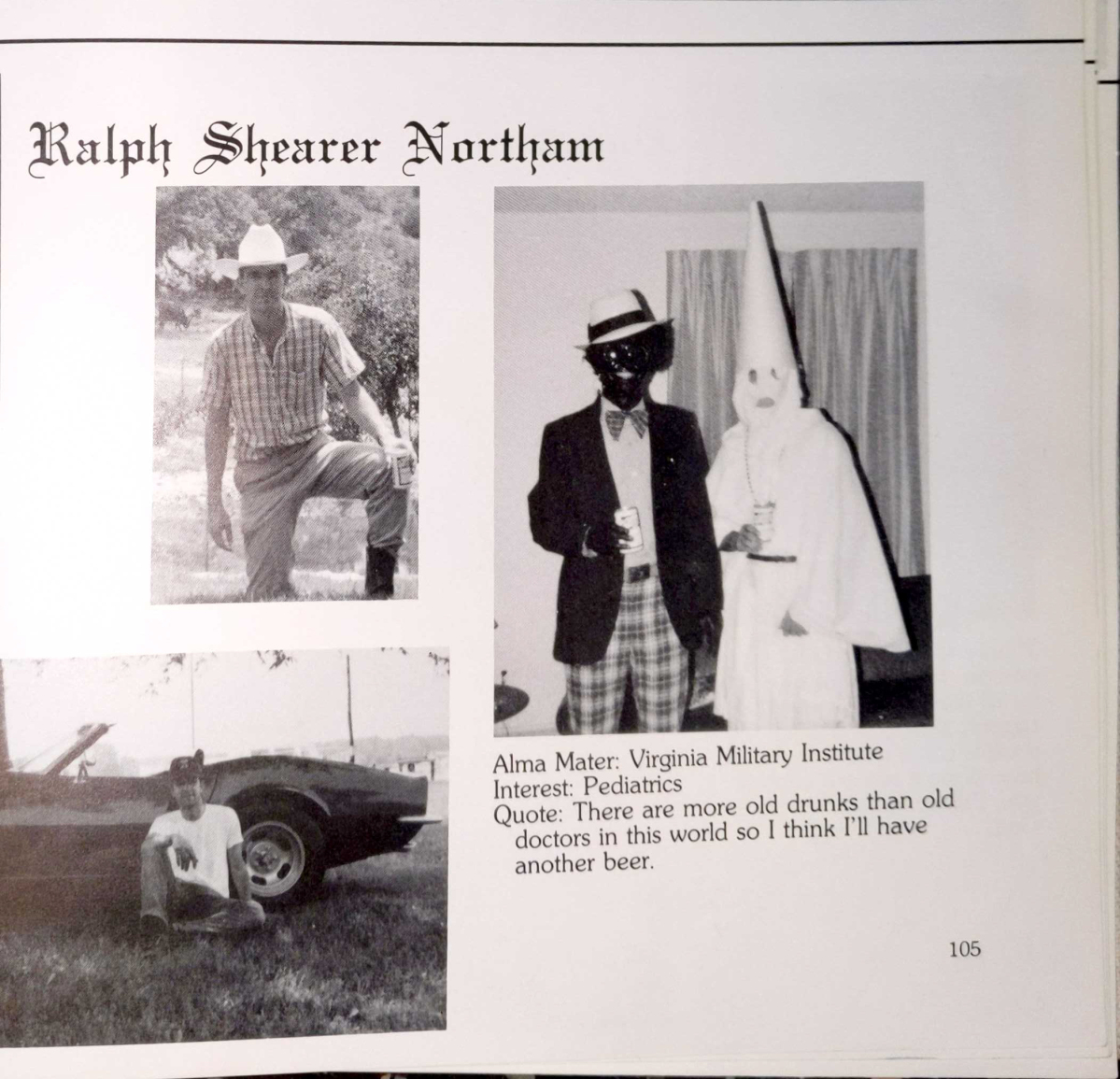 Va. Gov. Northam insists he is not in racist photo, admits past 'mistakes' but says he won't resign - Portland Press Herald