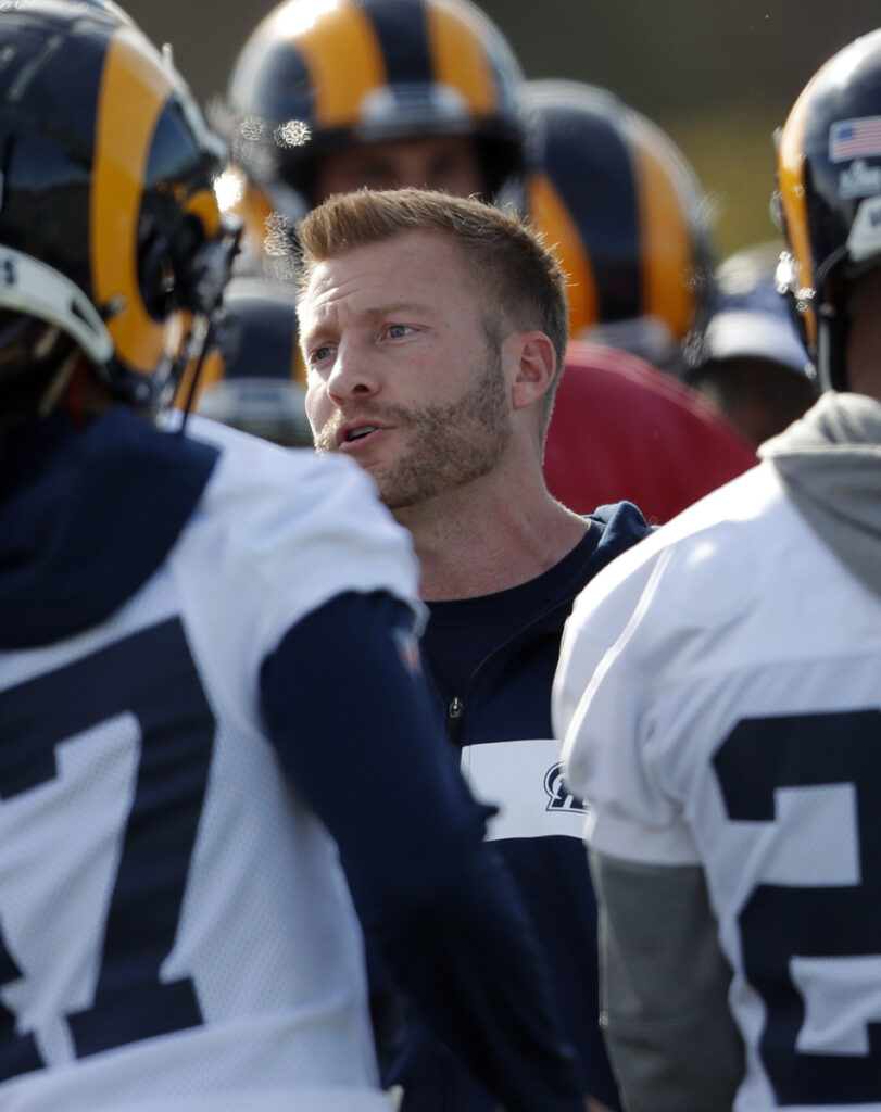 At age 33, Sean McVay will become the youngest coach to win a Super Bowl if the Rams can beat the Patriots.
