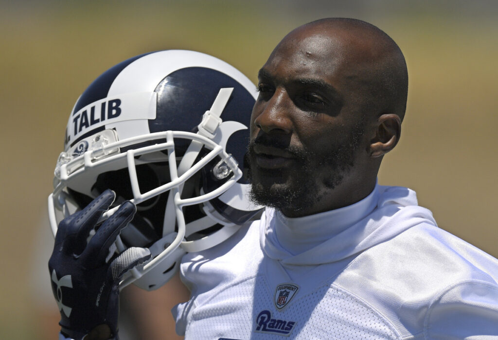 The Rams went all out last offseason to assemble high-priced talent, including a trade for defensive back Aqib Talib.