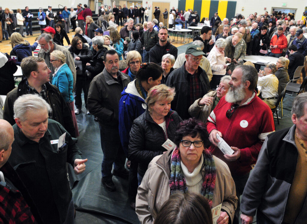 The caucus system is a good organization-building tool for political parties, but it's not up to the task when large numbers of Mainers want to help select their party's presidential nominee.