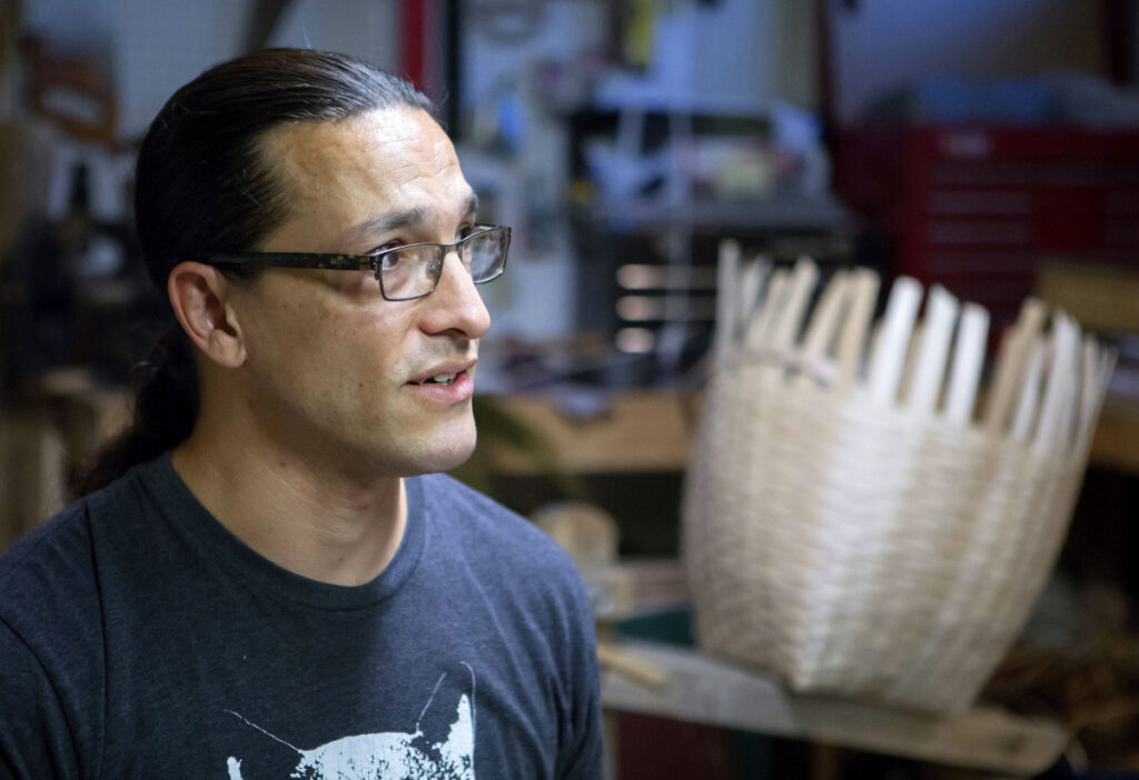 Gabriel Frey, a 12th-generation Passamaquoddy basketmaker, has won a United States Artists fellowship, which comes with a $50,000 prize. His brother won in 2010.