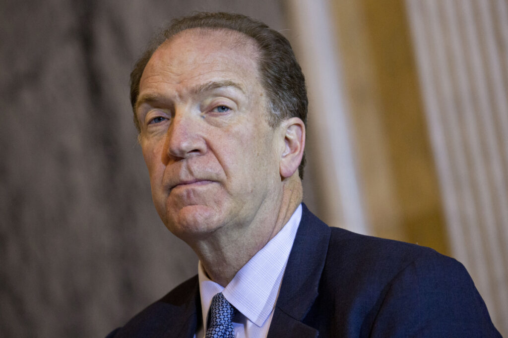 David Malpass, a U.S. Treasury official, has said the World Bank is more focused on its prestige than on helping other nations.