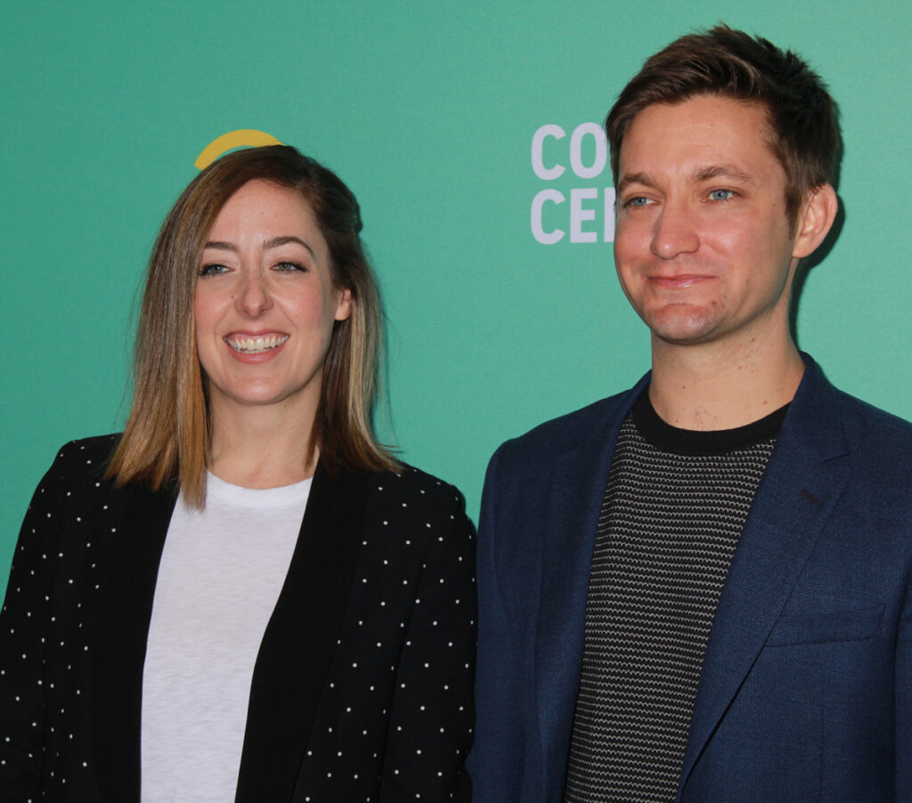 "Sarah Schneider and Chris Kelly are co-creators and executive producers of ""The Other Two."""