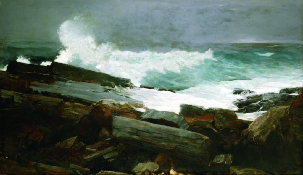 "The Portland Museum of Art and the Maine Humanities Council are collaborating on an exhibition that will include 20 objects representing 20 Maine stories, which might include, for example, Winslow Homer's ""Weatherbeaten,"" an oil on canvas, 28 by 48 inches, shown at the Portland Museum of Art. Bequest of Charles Shipman Payson."