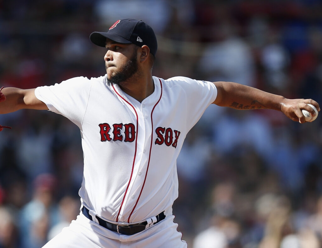 Boston pitcher Eduardo Rodriguez didn't have injuries to contend with in the offseason and is in top shape this year.