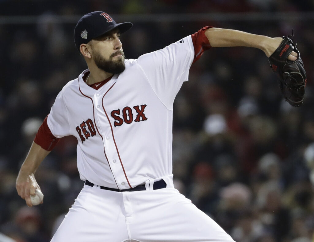 Matt Barnes has a 4.14 ERA in 231 appearances in the past five years. He is among the pitchers who could be Boston's closer.