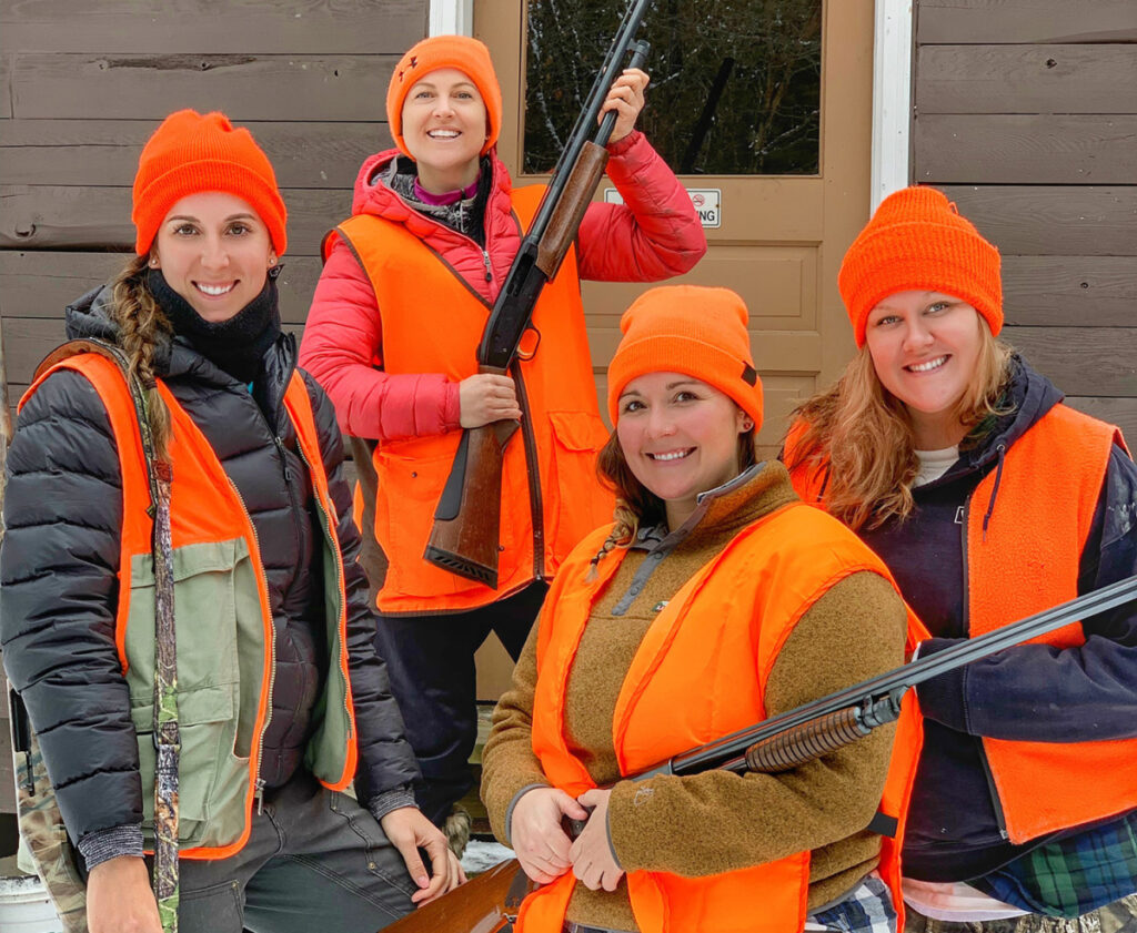 decaded455cf6 Facebook group lets huntresses in Maine share tales of stalking prey ...