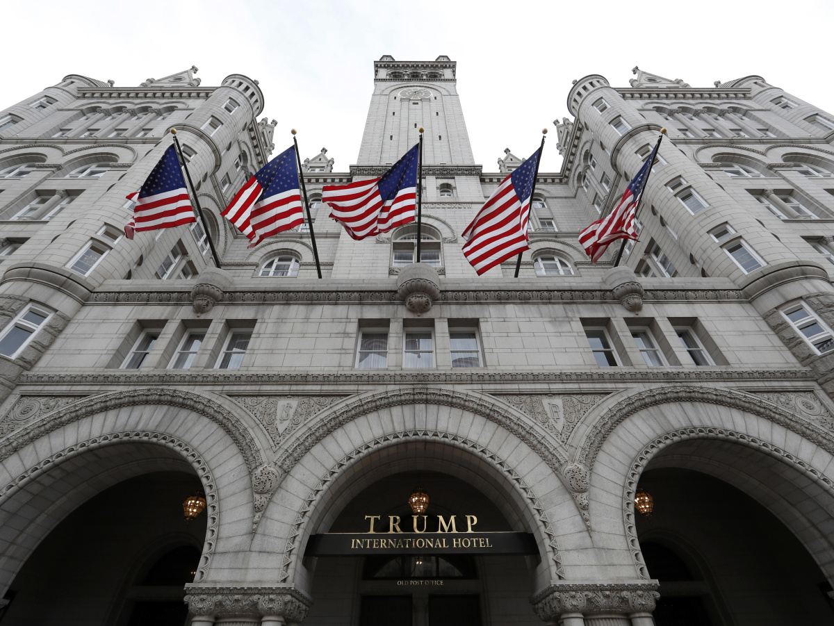 Maine paid for 40 rooms at Trump hotel for LePage, staff