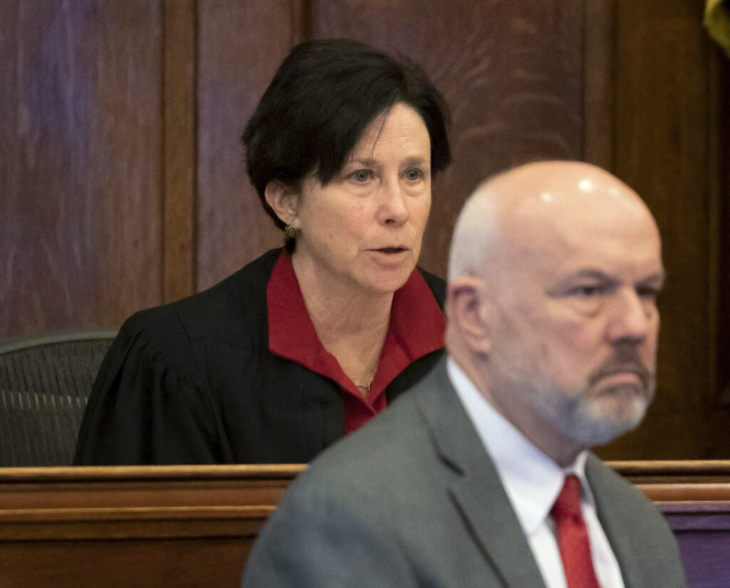 After declaring a mistrial Thursday in Portland, Superior Court Justice Michaela Murphy gave the state's chief medical examiner 30 days to explain why his opinion of key evidence had changed.