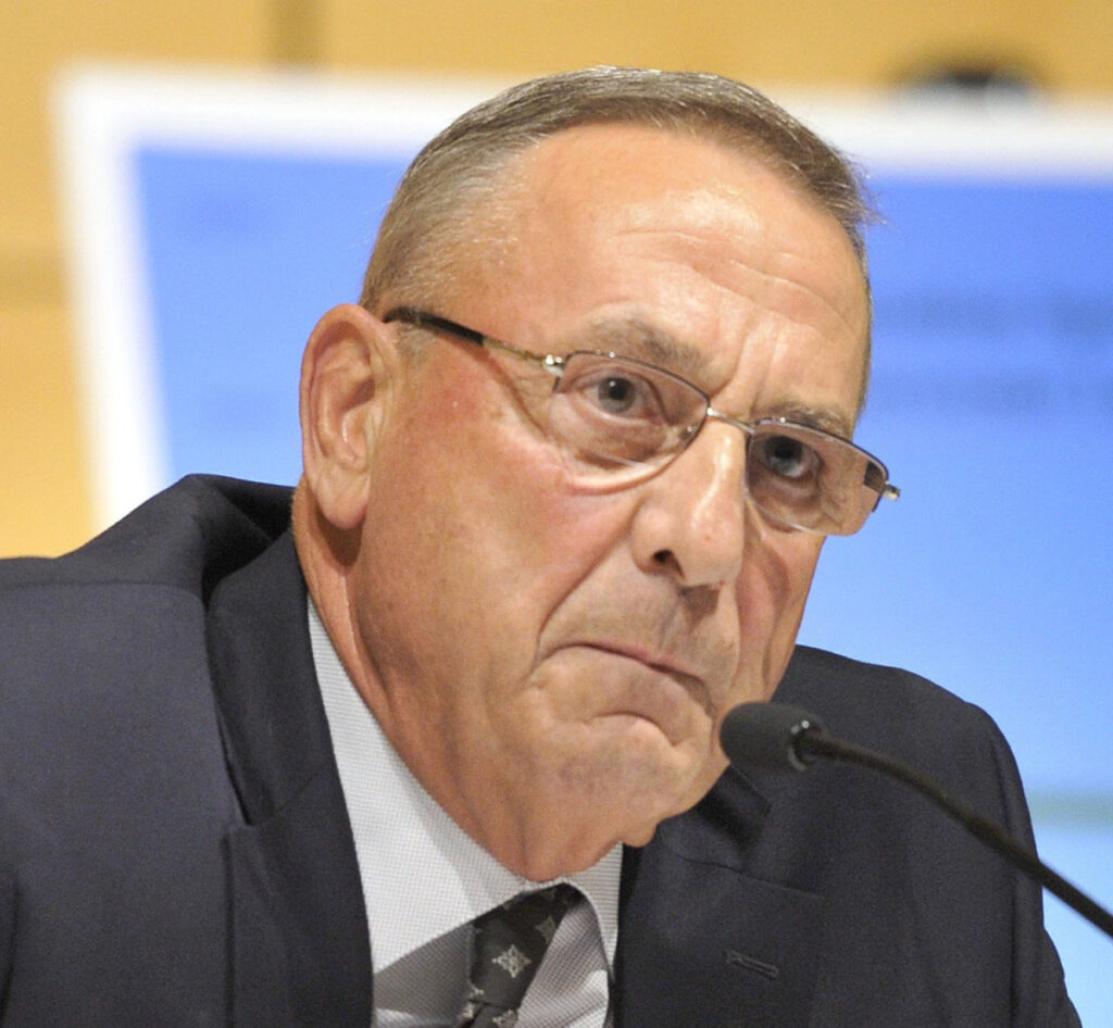 "Former Gov. Paul LePage told WGAN radio he wasn't aware of paying $1,100 for a room at a Trump hotel, but ""shame on me"" if it happened ""because I should have been on top of that."""