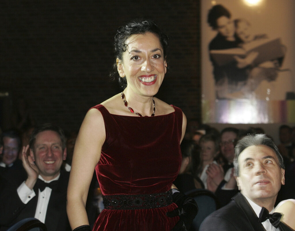 "Andrea Levy, shown in 2005, was best known for ""Small Island,"" the story of two couples whose lives intertwine in London after World War II."
