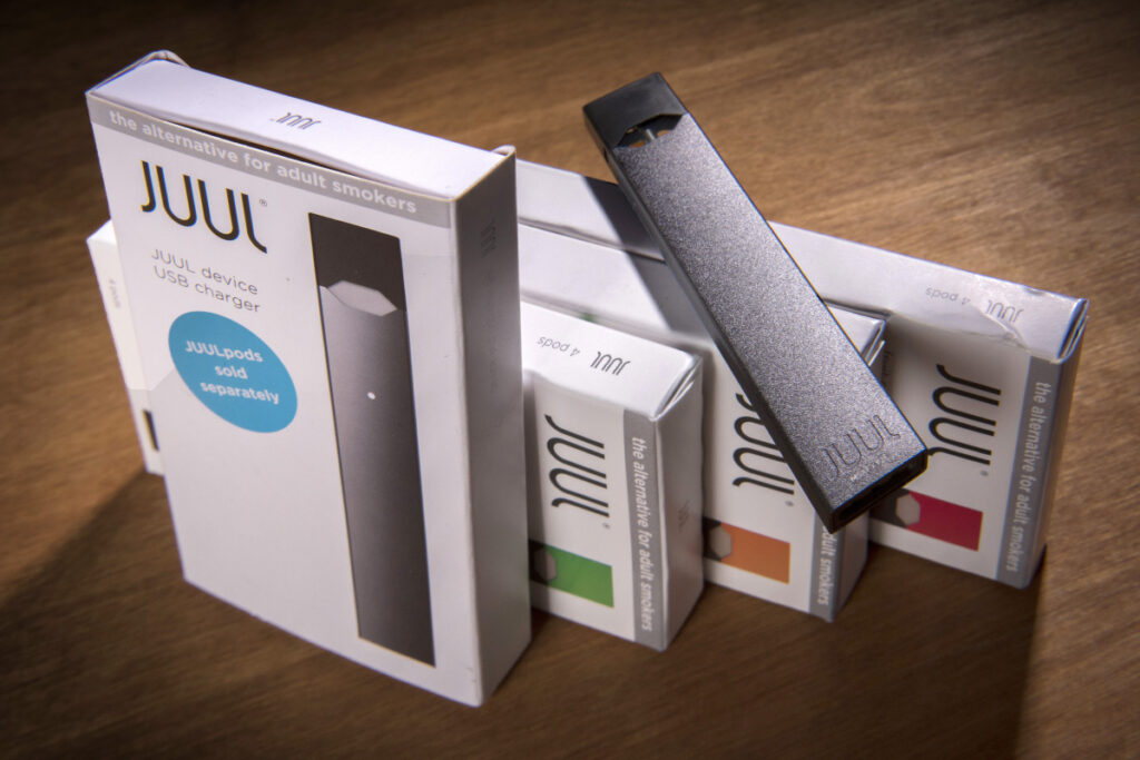 Juul Labs is one of five e-cigarette manufacturers that must submit plans to federal regulators detailing ways to sharply curb sales to underage consumers.