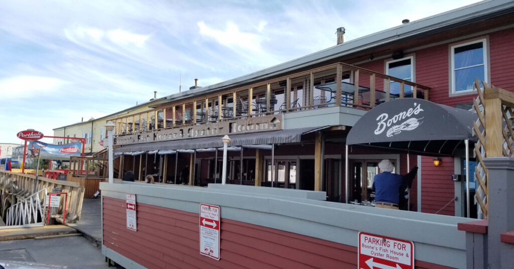 Boone's Fish House & Oyster Room in Portland