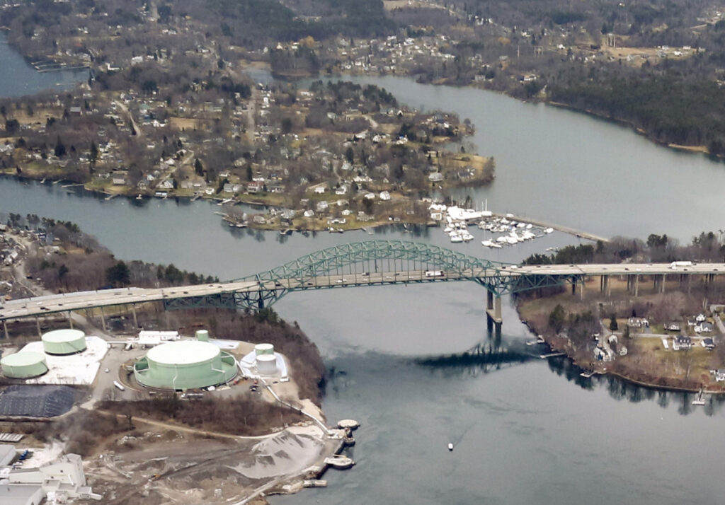 The Piscataqua River Bridge, which connects Kittery and Portsmouth, New Hampshire, carries about 74,000 vehicles daily. The unprecedented measure of trying to keep traffic moving while crews resurface the six-lane bridge is the main factor driving up costs.