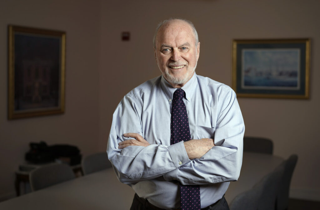 "Jim Ward, president of Patient Advocates, a Gray company that manages self-insured employee health care plans in Maine, says the notion of cheaper care in Boston is counterintuitive but true. ""There are six or seven major medical centers that all compete with each other on price, for patients, for specialists, and so on."""
