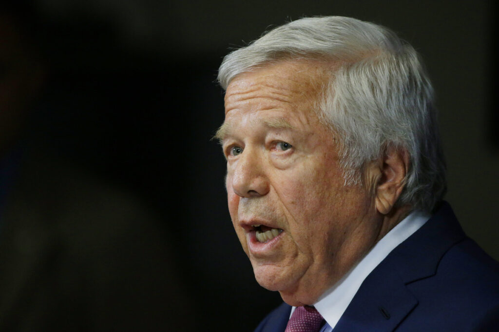 New England Patriots owner Robert Kraft faces possible punishment from the NFL after police in Florida announced he faces misdemeanor charges for solicitation of prostitution.