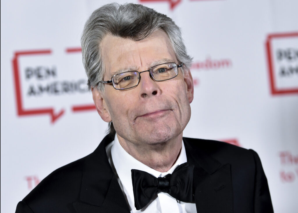 Stephen King, shown in May 2018, and his wife have donated more than $1 million to the New England Historic Genealogical Society based in Boston.