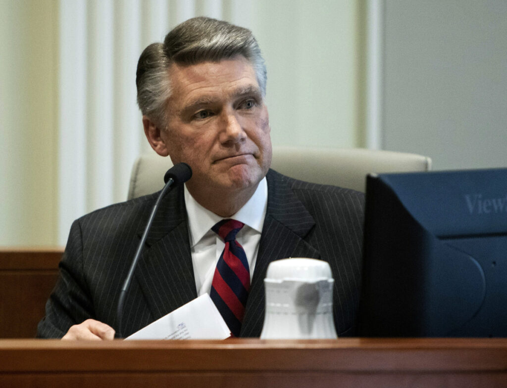 Mark Harris, who was the Republican candidate in North Carolina's 9th congressional race, won't run in the re-do election ordered by the state after a hearing on ballot fraud.