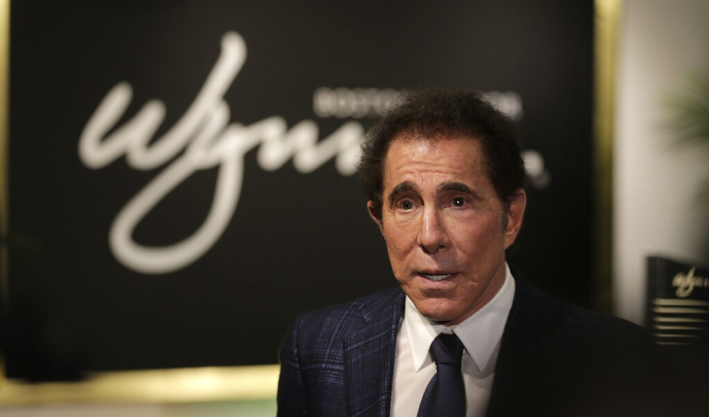 Nevada gambling regulators ordered casino mogul Steve Wynn pay $20 million for failing to investigate claims of sexual misconduct made against him before he resigned a year ago (AP Photo/Charles Krupa, File)