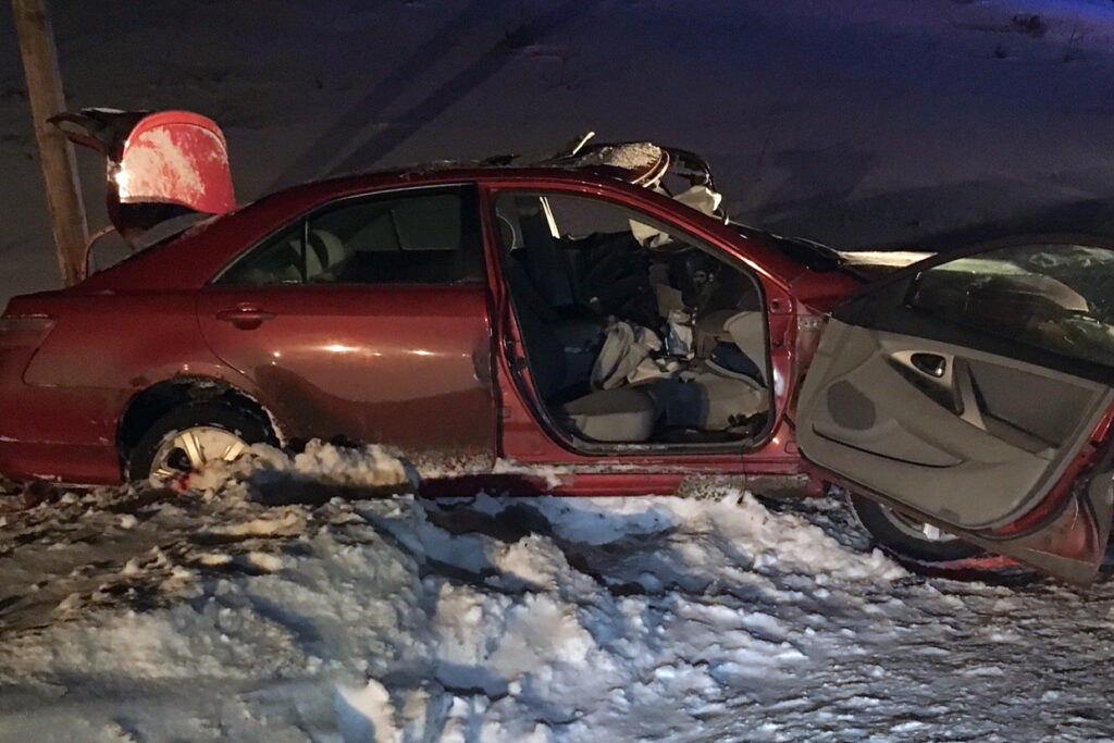 A Harmony man was killed Monday night in a head-on crash in Bingham 1.5 miles north of the state rest area on Route 201. Michael Handy, 46, driving a red Toyota Camry, was pronounced dead at the scene.