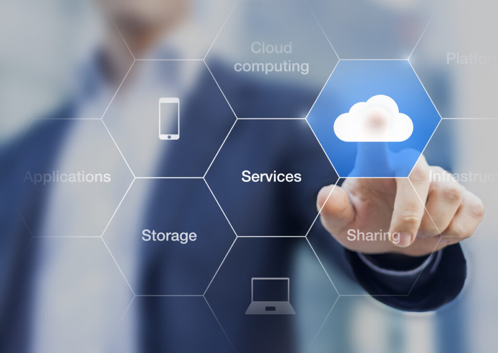 File sharing is a great cloud computing tools. Photo provided by OTELCO.