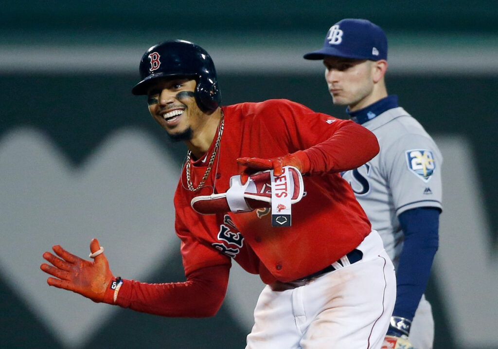 Mookie Betts is in line for a big contract if he becomes a free agent after the 2020 season. It will be up to the Red Sox to do something bold and dramatic.