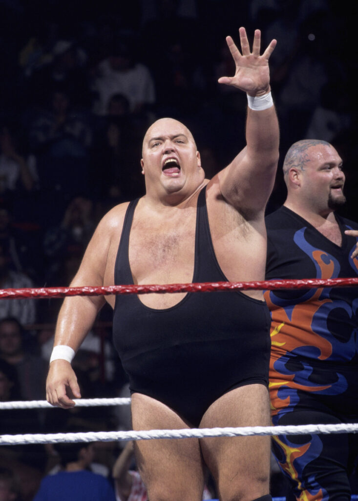 King Kong Bundy made his World Wrestling Federation debut in 1981 and was best known for facing Hulk Hogan in 1986 in a steel-cage match at WrestleMania 2.