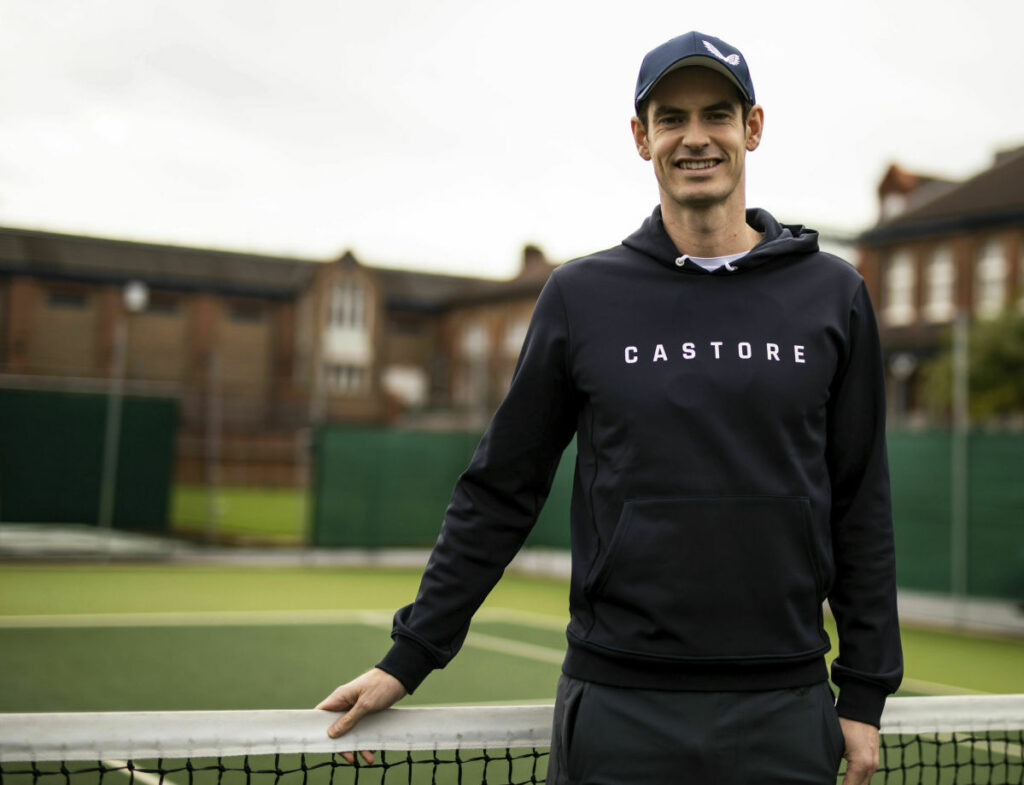 Britain's Andy Murray  at the Queen's Club, in London on Wednesday.