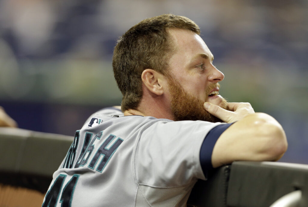 Charlie Furbush spent five seasons in the major leagues, mostly as a left-handed reliever with the Seattle Mariners. (AP Photo/Lynne Sladky)