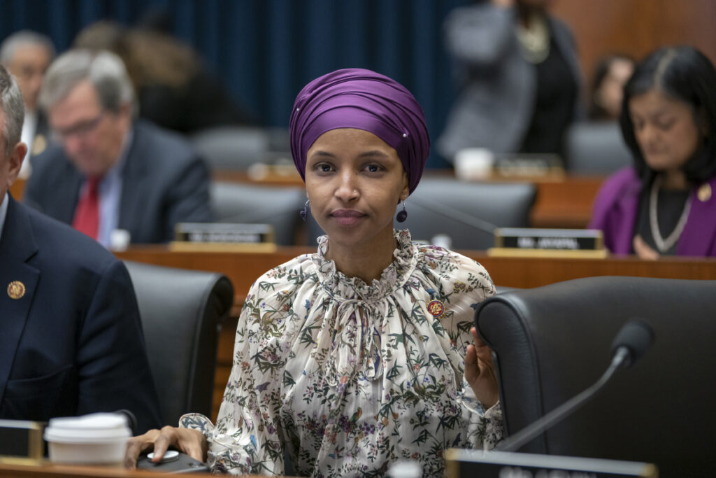 "Rep. Ilhan Omar, D-Minn., stirred controversy last week when she said that Israel's supporters are pushing U.S. lawmakers to take a pledge of ""allegiance to a foreign country."""