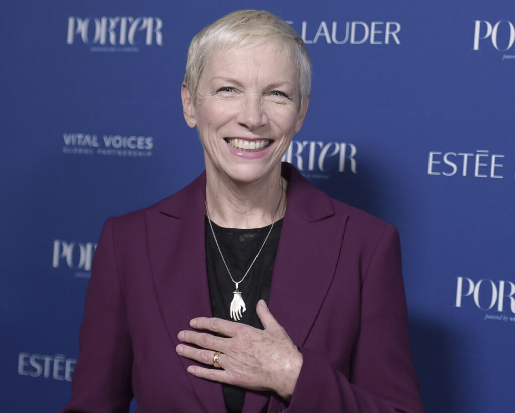 Annie Lennox is teaming up with other artists and Apple Music to launch a video Friday – International Women's Day – in support of global feminism.