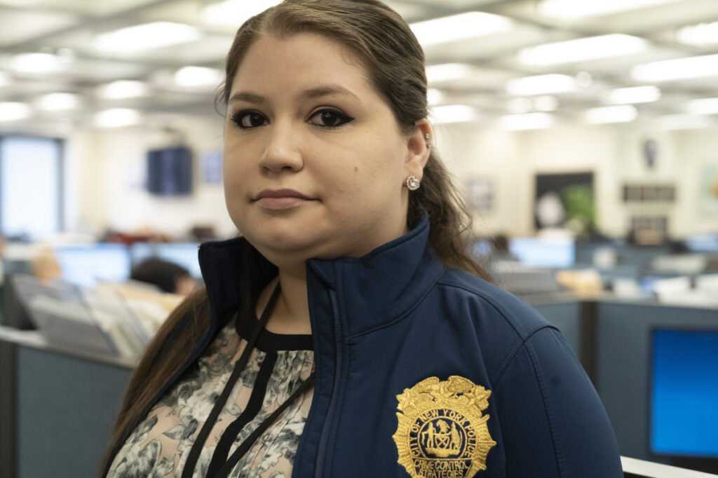 "Rebecca Shutt, in NYPD's Office of Crime Control Strategies, says Patternizr ""brought back complaints from other precincts that I wouldn't have known. That was incredibly helpful."""