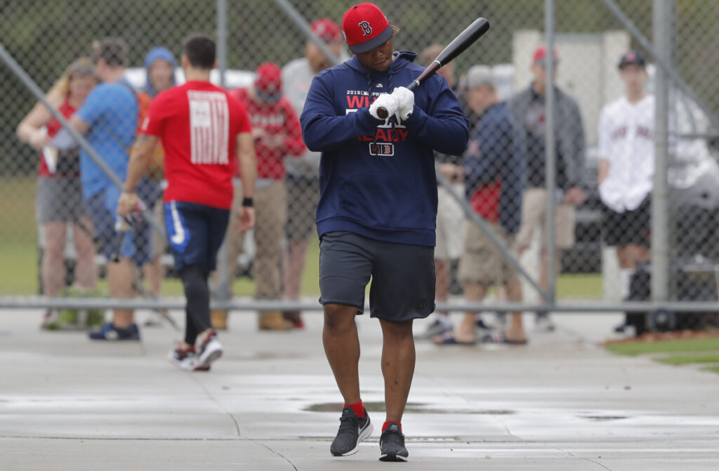 Rafael Devers, who may hit third in the Red Sox batting order this season, is discovering how to approach each plate appearance with a plan.