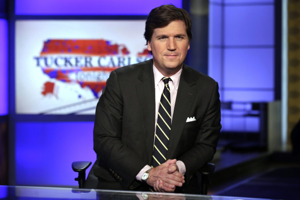 Tucker Carlson host of